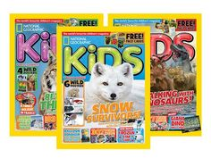Six-Month Subscription to National Geographic Kids Magazine - National: Amazon Local