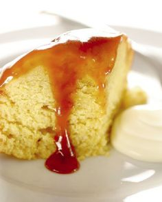 Low FODMAP and Gluten Free Steamed Sponge Pudding