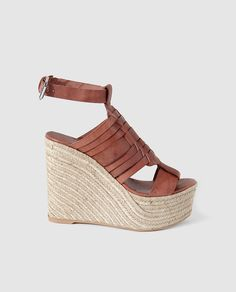 finest selection f62f6 582f4 Sandalias de cuña de mujer Wedge Sandals, Sneakers, Cribs, Feminine  Fashion, Shopping