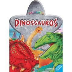Livro Colorindo Dinossauros
