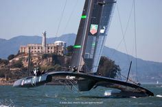 17 takes on San Francisco Bay for her fourth day of training (October 1)