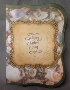 Pop Up DIY Father's Day Card - PAPER CRAFTING - nice card