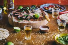 It's BBQ season! Tequila and Lime Marinated Steak Beef Steak Recipes, Mexican Food Recipes, Healthy Recipes, Marinated Steak, Tasty, Yummy Food, Supper Recipes, Food Porn, Food And Drink