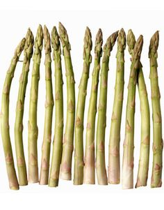 Asparagus | Leaving the realm of red-colored fruits, the lycopene content plummets by orders of magnitude. Still, one cup of asparagus has 43 μg of lycopene. Asparagus is also a great choice because it's one of the clean 15 fruits and vegetables low in pesticide residue.