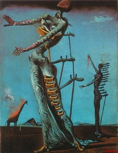 The works of Salvador Dali are a source of massive inspiration for me.