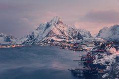 L'hiver aux îles Lofoten – Norvège