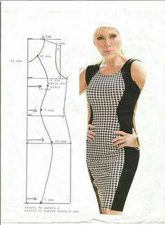 Body contour dress Dress Sewing Patterns, Sewing Patterns Free, Clothing Patterns, Fashion Sewing, Diy Fashion, Fashion Dresses, Sewing Clothes, Diy Clothes, Clothes For Women