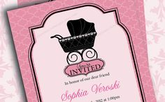 Printable PDF  Baby Shower for Girl or by TresCutiesDesigns, $8.00
