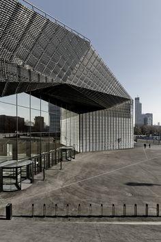 Międzynarodowe Centrum Kongresowe w Katowicach.   Poland, Katowice, JEMS Architekci. 2011-2015