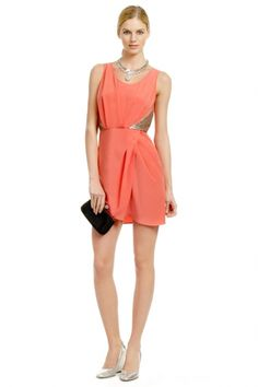 Neon Nightlife Dress,Rent The Runway cocktail dress ,  bridal shower ,  bridesmaid dress ,