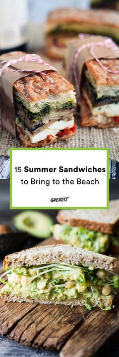 The seagulls are going to be so jealous. #greatist https://greatist.com/eat/beach-sandwich-recipes