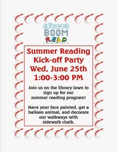 Summer Reading Kick-off Party at Franklin Public Library