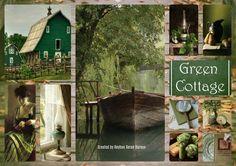 '' Green Cottage '' by Reyhan Seran Dursun