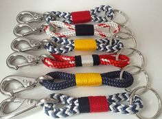 Nautical+Rope+Keychains+by+Buoy6+on+Etsy,+$14.95