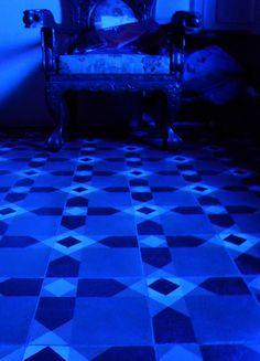 Beautiful Blue Floors by RuthSequeira, via Flickr #Bharat Floorings