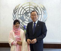 Malala Yousafzai Serukan Hak Pendidikan Anak di PBB
