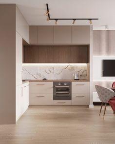 Kitchen Pantry Design, Luxury Kitchen Design, Kitchen Layout, Home Decor Kitchen, Interior Design Kitchen, Kitchen Modular, Modern Kitchen Interiors, Cuisines Design, Kitchen Remodel