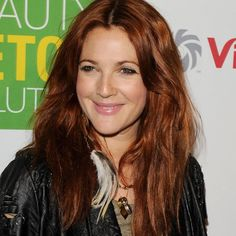 drew barrymore red hair - Google Search