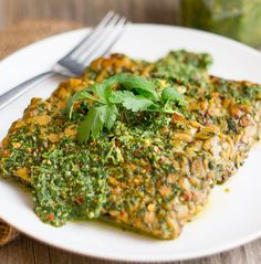 """Tempeh is one of the """"meatiest"""" forms of vegan protein where nutty slabs of tempeh are drenched in bright, garlicky flavors from a solid marinade with herbaceous chimichurri. Sliced & dice and use as the base for tacos, on top of a pesto pizza or thrown into a hearty and delicious quinoa salad."""