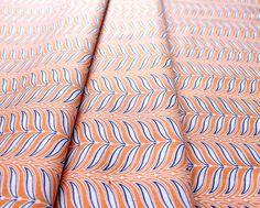 Riley Blake Lula Magnolia Fern Orange C3775