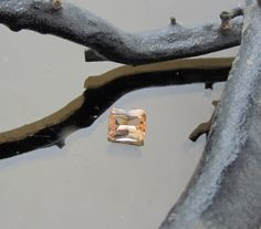 Radiant Cut Peach Color Imperial Topaz Loose by PristineJewelry, $780.00