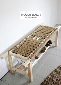 12 JUNE DIYS – Woven Bench