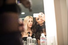 #ButtahBenzo on fleek in these behind-the-scenes photos from our #PLLposter shoot