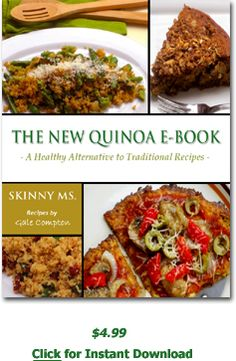 @Jennelle Hamilton :) Learn to prepare easy, healthy recipes for Enchiladas, Apple Crumb Cake, Asian Stir-fry, Quinoa Primavera and Fudge...all with nature's great superfood, quinoa.