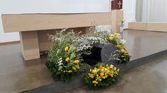 부활절 제대꽃꽂이