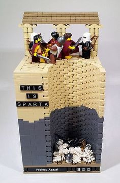 "Awesome Lego ""300"" scene!:"