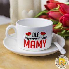 Filiżanka najwspanialszej mamy - prezent na dzień matki i inne okazje.#filizanka #cup #caffe #tea #prezent #pomysl #dzienmamy #dzienmatki