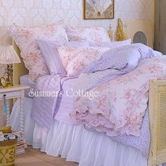 summers cottage bedding | Chic Bedding Authentic Shabby Chic Rachel Ashwell Duvet Shabby Cottage ...