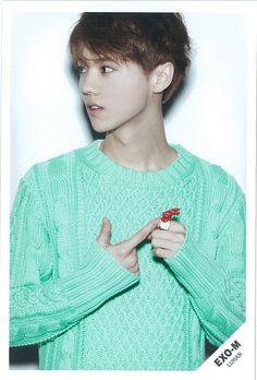 Exo - Luhan just being naturally hot and handsome in this picture. no big deal°° MAMA ERA