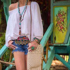 Hippie girl at Bali