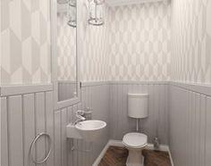 łazienka w stylu shabby chic - zdjęcie od Archomega Biuro Architektoniczne