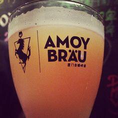 #厦门 #啤酒 #amoy #brau #beer #thegoodstuff #goodtimes #saturdaynight #干杯 #xiamen