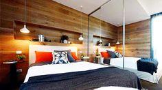 Kyal and Kara from The Block Teen Bedroom, Bedroom Wall, Bedroom Ideas, Bedroom Designs, Kyal And Kara, Timber Walls, Interior Design Inspiration, Bedroom Inspiration, Beautiful Bedrooms
