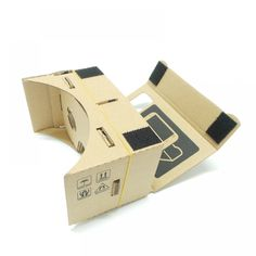 Cardboard VR Glasses Virtual Reality Box O culus Goggles Rift for iPhone 6 Plus inch Android iOS Smartphone (With Printing) Virtual Reality Goggles, Virtual Reality Headset, Oculus Rift Dk2, Diy Toolkit, Iphone 6, Smartphone Price, Ios, Vr Box, Android 4