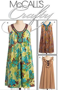 PLUS Size BOHO DRESS Sewing Pattern Misses Bohemian #patterns4you ~ SOLD!