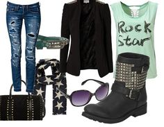 Casual outfit RockStar