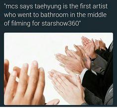 Taehyung is da legend! Creating history ya everywhere