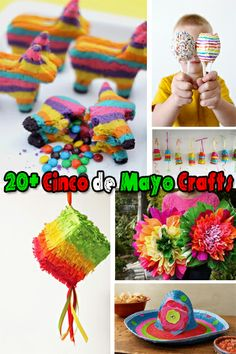 Looking for a last minute Cinco de Mayo craft to do with your kids? Try one of these 20+ Cinco de Mayo Crafts!