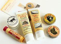 Burt's Bees Tips N Toes Hands & Feet Kit 6pc Skincare Gift Set Cream Balm New #BurtsBees
