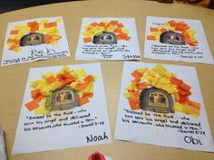Fiery Furnace craft! Children's Ministry :)