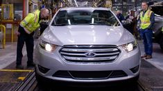 The final Ford Taurus was built Friday, March 1 in Chicago. This is the second time that Ford has retired the Taurus nameplate, and this one really may be the last. Full Size Sedan, Mid Size Sedan, Ford Taurus Sho, New Explorer, Sports Sedan, Automotive News, New Engine, Car Wallpapers, Two By Two