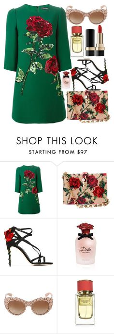 """""""Dreaming Gorgeous"""" by egordon2 ❤ liked on Polyvore featuring Dolce&Gabbana"""