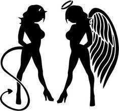 Image result for angel devil