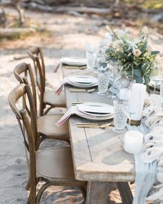 "21 Likes, 2 Comments - Destination Wedding Planning (@destinations.design) on Instagram: ""Beach dreamin'. What a great way to cure the winter blues, a wedding on the beach!  #beachreception…"""