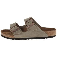 Get 30% off this Select Style Use Promo Code: TAUPE30 Classic twostrap sandal in a variety of materials with fully adjustable straps. The goto style in any situation| - Upper material: Suede Thick and