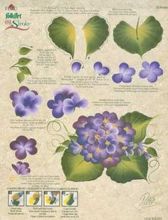 donna dewberry free patterns | ... - Donna Dewberry - One Stroke - Painting Supplies - Craft Supplies